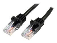 Bild von STARTECH.COM 10m Cat5e Ethernet Netzwerkkabel Snagless mit RJ45 - Cat 5e UTP Kabel - Schwarz