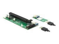 Bild von DELOCK Riser Karte M.2 Key B+M > PCI Express x16 mit 30 cm USB Kabel