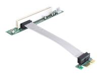 Bild von DELOCK PCIe-Riser-Karte x1 > PCI 32-Bit mit Kabel 13cm