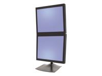 Bild von ERGOTRON DS100 Standfuss fuer zwei Monitore vertikal angeordnet bis 68,6cm 27Zoll max 10,4kg. VESA 75x75 100x100mm