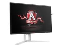 Bild von AOC AGON AG241QG 60,5cm 23,8Zoll TFT 16:9 1000:1 350cd/m2 1ms 2560x1440 HDMI DP USB schwarz/rot