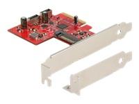 Bild von DELOCK PCI Express Karte zu 2xintern USB 3.2 Gen 2 Key A 20 Pin Buchse