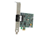 Bild von ALLIED Secure PCI-e x1 Fast Ethernet Fiber SC Adapter includes both standard and low profile brackets single pack