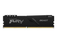 Bild von KINGSTON 128GB 2666MHz DDR4 CL16 DIMM Kit of 4 FURY Beast Black