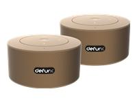 Bild von DEFUNC Duo Mobile Stereo Lautsprecher go gold Bluetooth 2er Set schwedisches Design tolle Verpackung