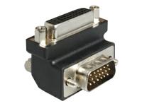 Bild von DELOCK Adapter DVI 24+5 Bu > VGA-St(15) 90G gewinkelt