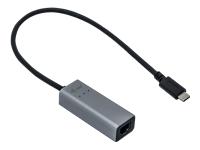 Bild von I-TEC USB-C Metal 2.5Gbps Ethernet Adapter 1x USB-C auf RJ-45 LED-Anzeige kompatible mit Thunderbolt 3