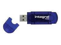 INTEGRAL 4GB USB Drive EVO - Kovera Distribution