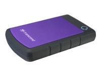 Bild von TRANSCEND SJ25H3P HDD 4TB extern 6,4cm 2,5Zoll USB 3.0 Purple