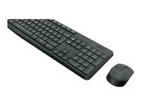 Bild von LOGITECH MK235 wireless Keyboard + Mouse Combo - Grey - INTNL (RUS)