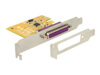 Bild von DELOCK PCIe x1 Parallel 1x incl. low profile Slotblech
