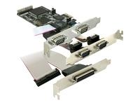 Bild von DELOCK PCI Express Karte 4x Seriell, 1x Parallel