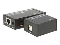 Bild von EFB USB2.0 Extender 4 Ports via RJ45 Kabel bis zu 100 Meter inklusive Netzteil