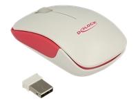 Bild von DELOCK Optische 3-Tasten Mini Maus 2,4 GHz wireless