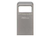 Bild von KINGSTON 32GB DTMicro USB 3.1/3.0 Type-A metal ultra-compact flash drive