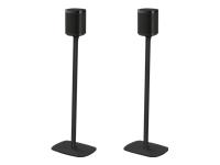Bild von FLEXSON 2x SONOS ONE/PLAY:1 Standfuss in schwarz inklusive Stromverlaengerungskabel