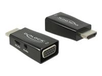 Bild von DELOCK Adapter HDMI-A Stecker > VGA Buchse mit Audio