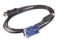 Bild von APC KVM VGA USB Kabel 1,8m