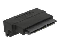 Bild von DELOCK Adapter SATA 22 Pin Buchse mit Einrastfunktion zu Stecker - gewinkelt oben