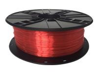 GEMBIRD PETG Fil Red 1.75mm 1kg - Kovera Distribution