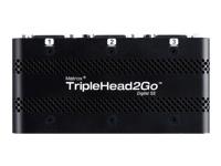 Bild von MATROX TripleHead2Go Digital Edition 1x DisplayPort -Eingang 3x DVI -Ausgänge