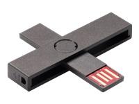 PLUSS ID smart card reader black - Kovera Distribution