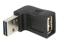 Bild von DELOCK Adapter EASY USB 2.0-A Stecker > USB 2.0-A Buchse gewinkelt oben / unten