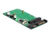 Bild von DELOCK Converter SATA 22pin / Mini USB 2.0 > mSATA