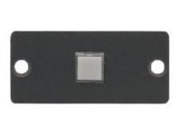 Bild von KRAMER RC-10TB Wallplate Einsatz 1-Taster Schaltkontakt