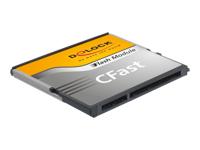 Bild von DELOCK CFast-Card SATA 6 Gb/s 8 GB Type MLC -40C/+85C