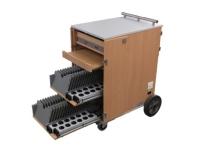 Bild von ALSO EduCenter Cart 32 Tablets - Notebookwagen für bis zu 32 Geräte mit 25,6 cm/10,1 Zoll Bildschirmdiagonale