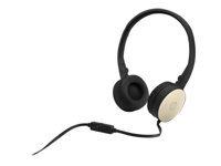 Bild von HP Stereo Headset H2800 Black w. Silk Gold