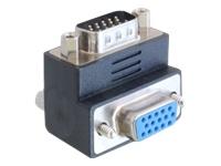 Bild von DELOCK Adapter VGA-St/Bu 90 Grad gewinkelt