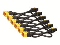 Bild von APC 6x Stromkabel C19 / C20 0,6m