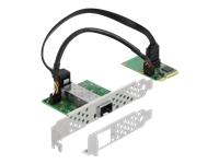 Bild von DELOCK Mini PCIe I/O PCIe full size 1 x SFP Gigabit LAN