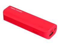 Bild von REALPOWER Mobiles Ladegeraet mit 2600mAh und integr. LED-Taschenlampe Powerbank