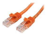 Bild von STARTECH.COM 10m Cat5e Ethernet Netzwerkkabel Snagless mit RJ45 - Cat 5e UTP Kabel - Orange