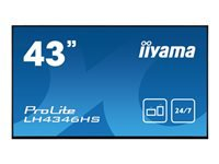 Bild von IIYAMA ProLite LH4346HS-B1 109,22cm 43Zoll Android-powered professional digital signage display with daisy chain function
