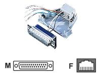 Bild von SECOMP Adapter DB25St-RJ45 Bu 8P/8C 8Ltg