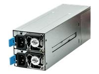 Bild von FANTEC NT-MR800W 2x800W EPS Mini Redundant Full Range 24+8+4pin Hochverfuegbarkeit 24x7 Hot Swap 2xStromeingang