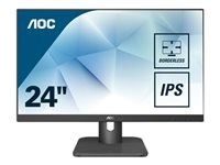 Bild von AOC 24E1Q 60,96cm 24Zoll display 3-sided frameless design of the 24E1Q allows seamless multi-monitor setups accurate