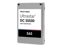 Bild von WESTERN DIGITAL Ultrastar SS530 3840GB SAS 12GB/s SSD TLC RI-1DW/D 3D ISE 6,4cm 2,5Zoll 15mm WUSTR1538ASS200