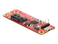 Bild von DELOCK Konverter Raspberry Pi USB 2.0 > SATA 7 Pin