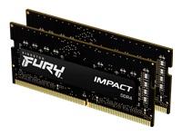 Bild von KINGSTON 16GB 3200MHz DDR4 CL20 SODIMM Kit of 2 FURY Impact