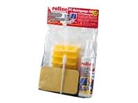 Bild von ROLINE PC Reinigungsset 125ml Spezial-Reiniger + Schwaemme + Tupfer + Tuecher