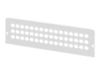 Bild von DIGITUS DN-96801L-2 Adapterplatte für DN-96800L-2 grau RAL 7035 48x SC-SX LC-DX E2000-SX