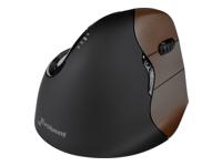 Bild von EVOLUENT Vertical Mouse 4 kleine rechte Hand Wireless Ergonomische Maus Ergonomie PC Zubehoer