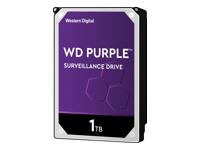 Bild von WD Purple 1TB SATA 6Gb/s CE HDD 8,9cm 3,5Zoll internal 5400Rpm 64MB Cache 24x7 Bulk