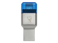 Bild von KINGSTON MobileLite DUO 3C USB3.1 + Type C microSDHC/SDXC Card Reader