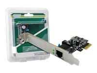 Bild von DIGITUS DN-10132 Gigabit Ethernet PCI Express Card 2-port 32-bit low profile bracket Intel chipset